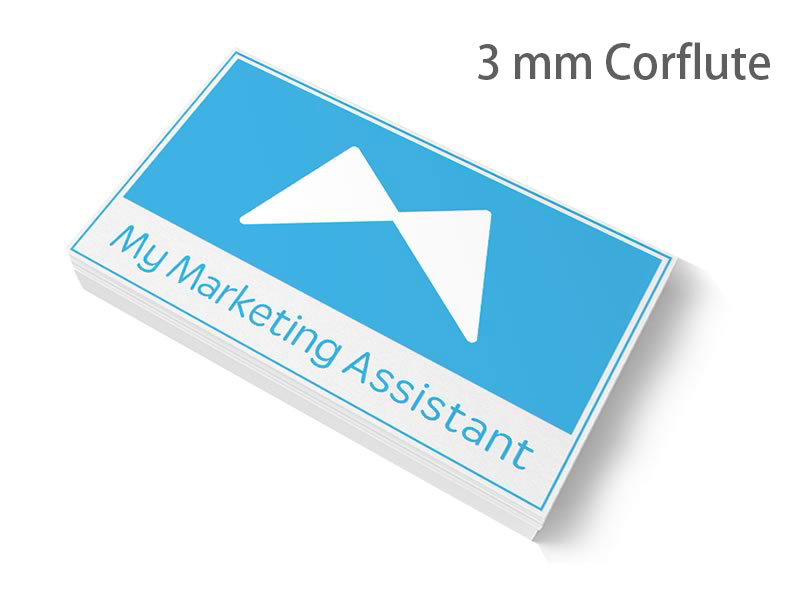 3mm corflute signs